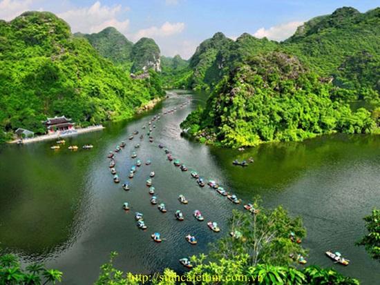 Ninh Binh – Hoa Lu – Mua Cave  – Trang An – Eco Tourism
